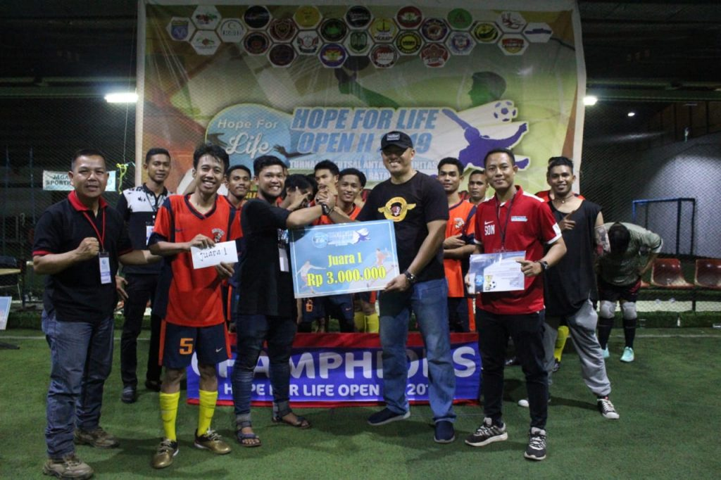 Macan-Tidar-FC-Juarai-Hope-For-Life-Open-II-2019-Juara-1