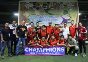 Tim Futsal PTP, MACAN TIDAR FC Raih Juara 1 dan Piala Bergilir HFL 2019