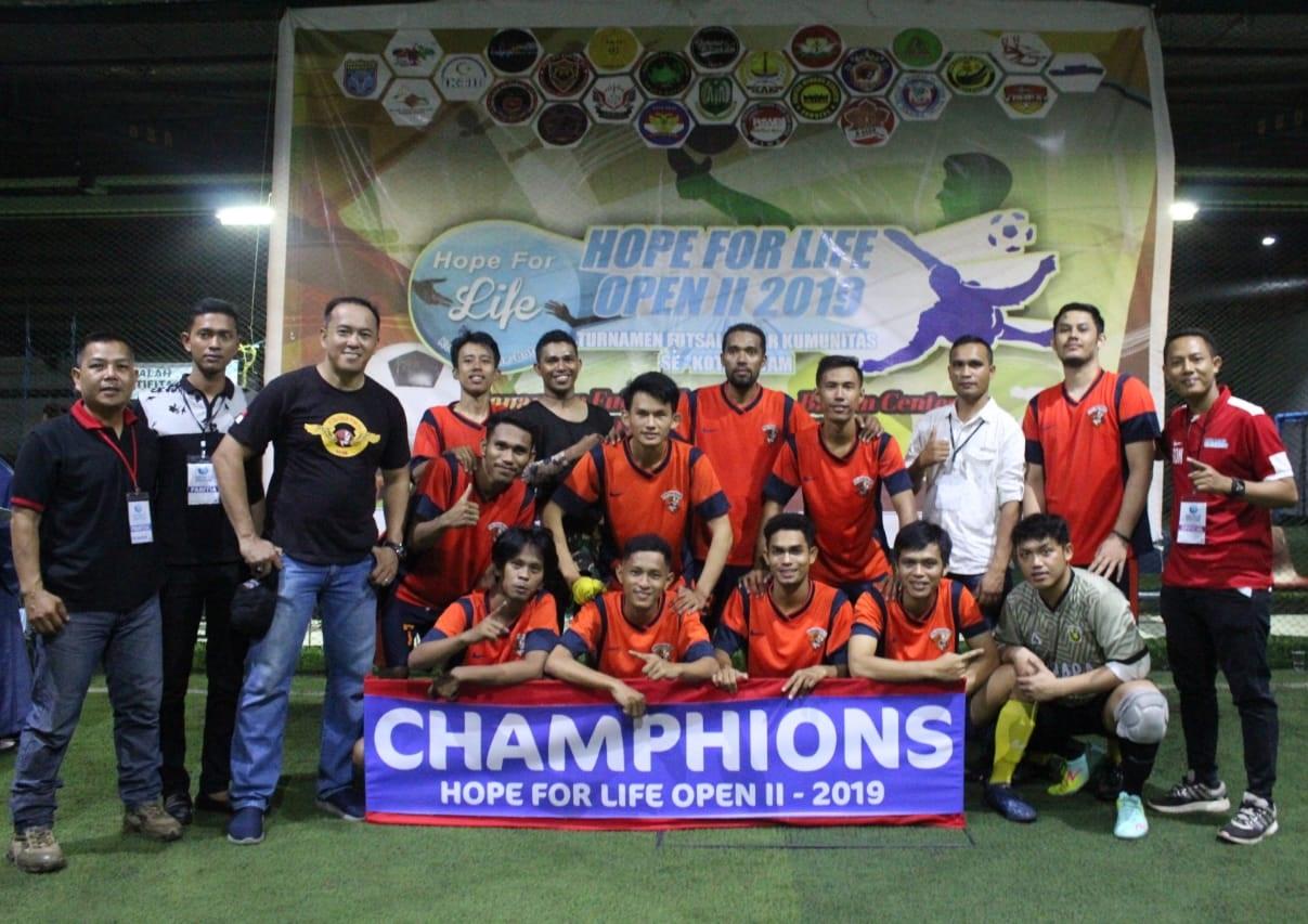 You are currently viewing Tim Futsal PTP, MACAN TIDAR FC Raih Juara 1 dan Piala Bergilir HFL 2019