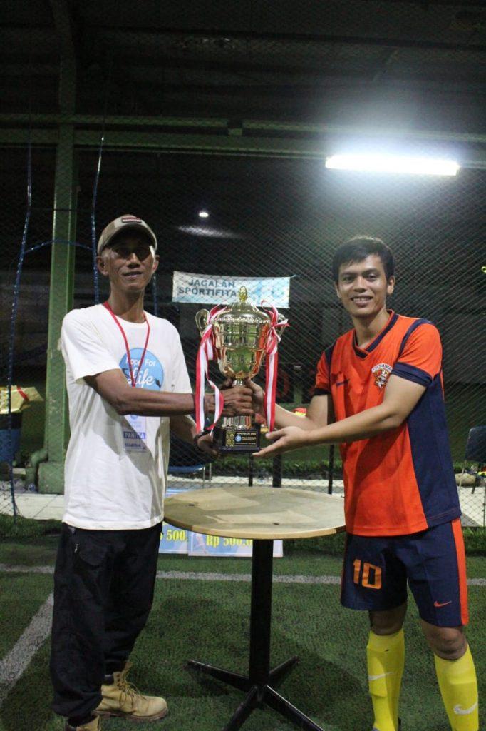 Macan-Tidar-FC-Juarai-Hope-For-Life-Open-II-2019-Piala-Bergilir