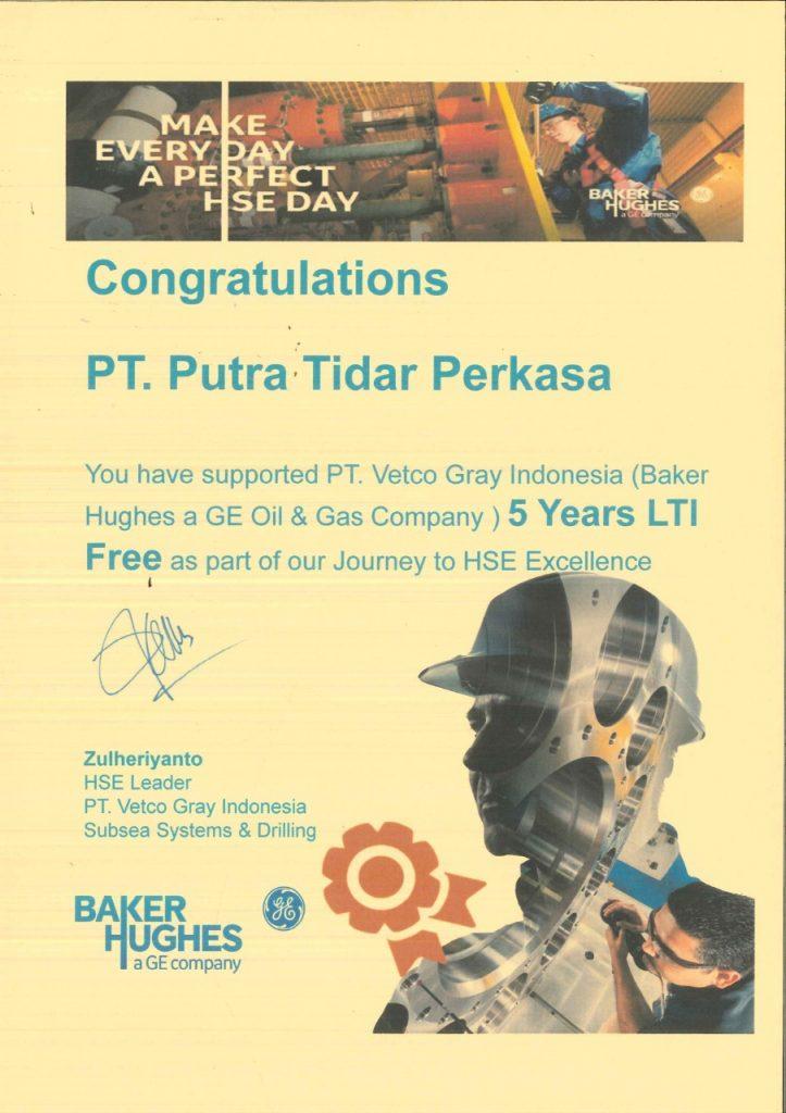Penghargaan-5-Years-LTI-Free-PT.-Putra-Tidar-Perkasa-dari-PT.-Vetco-Gray-Indonesia