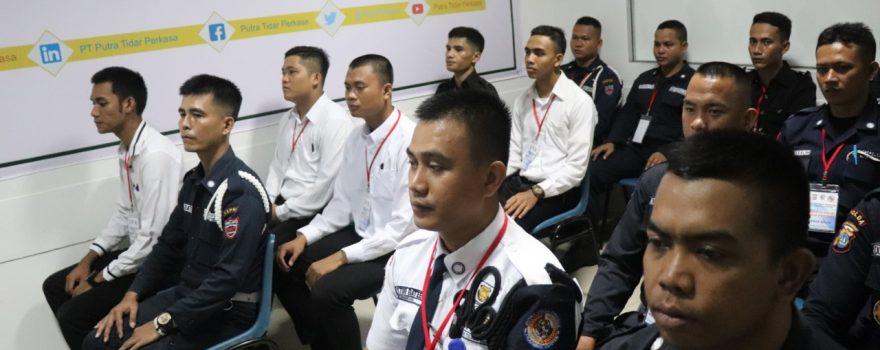 Pelatihan Satpam Gada Pratama PTP Training Center - Jasa Pelatihan Satpam di Kota Batam - angkatan 41