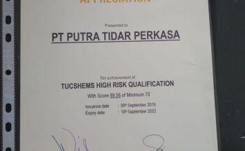 Penghargaan CSMS dari PT Trakindo Utama