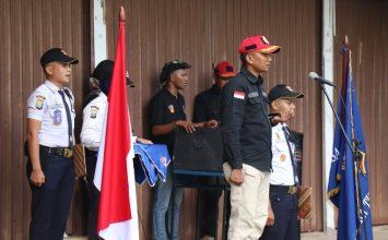 Upacara Pembukaan Diktuk Satpam angkatan 45 - PT Putra Tidar Perkasa