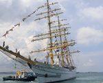 Bertolak dari Pelabuhan Batu Ampar Batam, KRI Bima Suci-945 menuju Pulau Dewata Bali