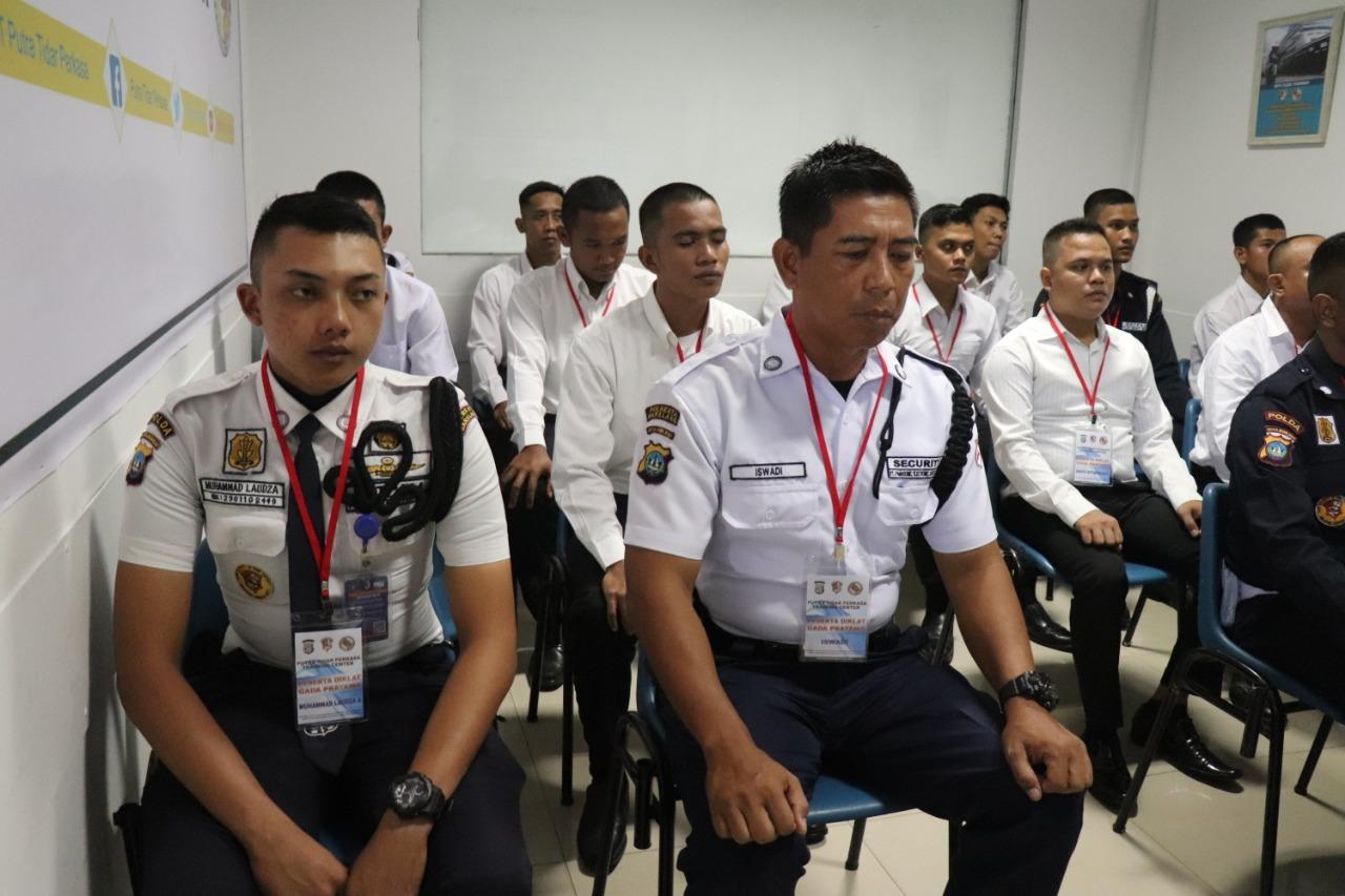 PTP Training Center Laksanakan Pelatihan Satpam Angkatan XLII