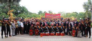 "Drum Band Satpam ""Canka Putra Perkasa"" pukau peserta Rakernas APSI"