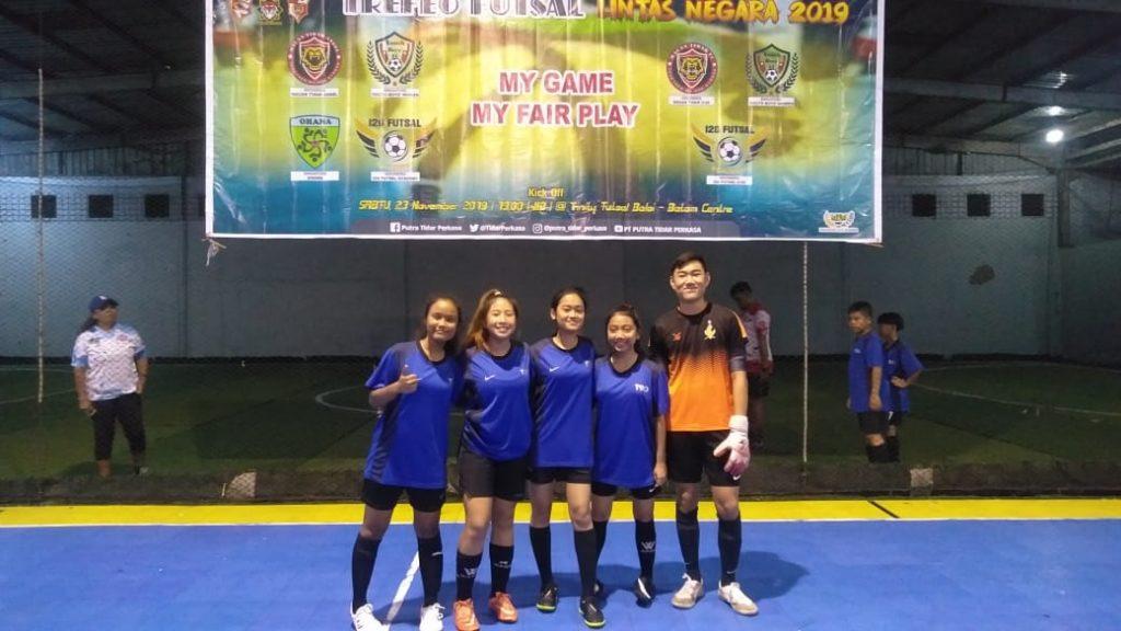 Turnamen Futsal Trofeo Lintas Negara 2019 - PTP Batam -