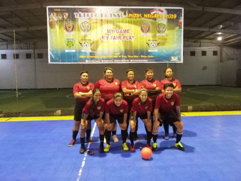 Turnamen Futsal Trofeo Lintas Negara 2019 - PTP Batam