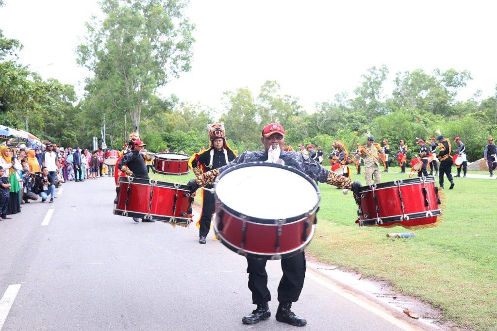Batam International Culture Carnival 2019 - Drumband Satpam Canka Putra Perkasa  - PT. Putra Tidar Perkasa