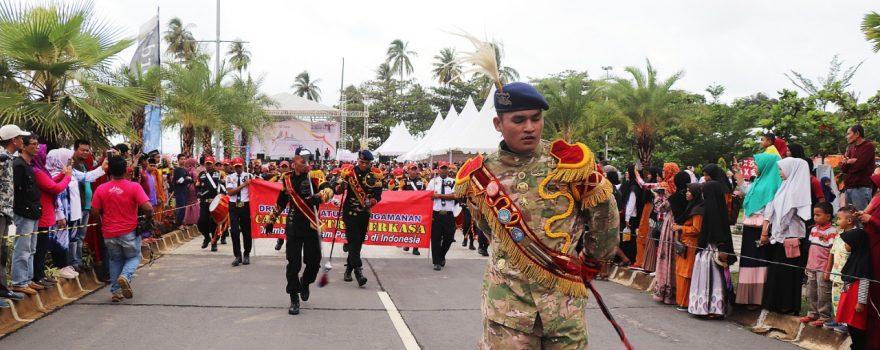 Batam International Culture Carnival 2019 di meriahkan oleh Drumband Satpam Canka Putra Perkasa - PT. Putra Tidar Perkasa