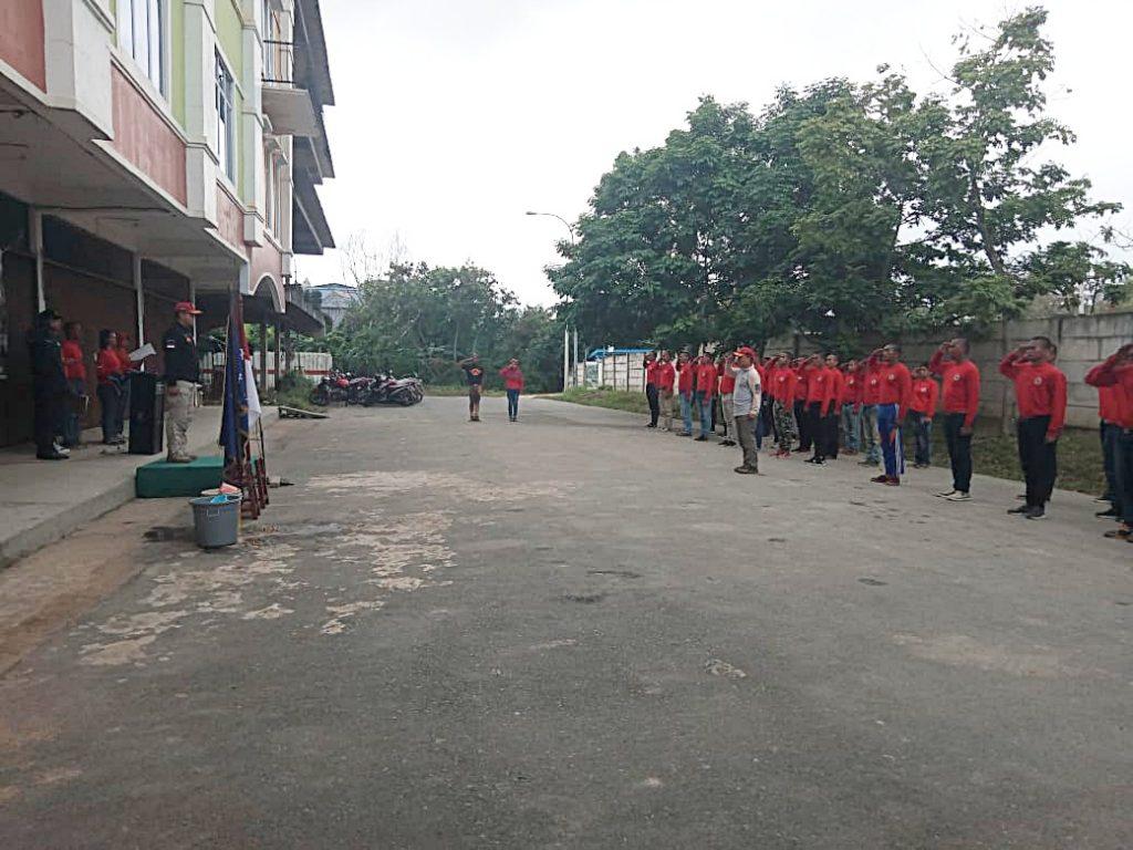 Diktuk Satpam angkatan 48 - PT Putra Tidar Perkasa - Satpam hebat lahir disini