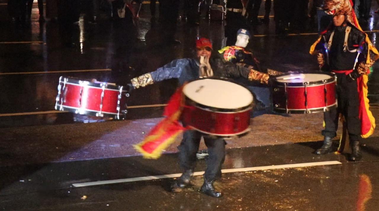 Drumband Satpam Canka Putra Perkasa Meriahkan Hari Jadi Kota Batam Ke 190