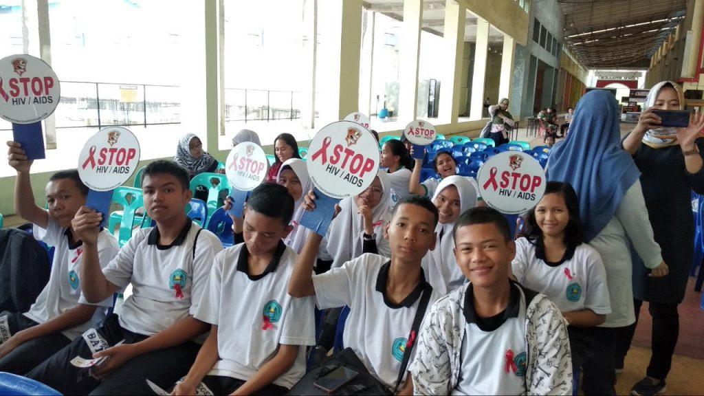 Hari AIDS Sedunia - PT Putra Tidar Perkasa bersama Generasi Muda -