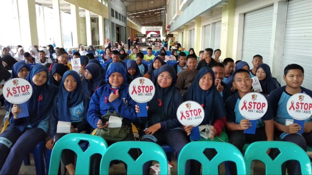 Hari AIDS Sedunia - PT Putra Tidar Perkasa bersama Generasi Muda
