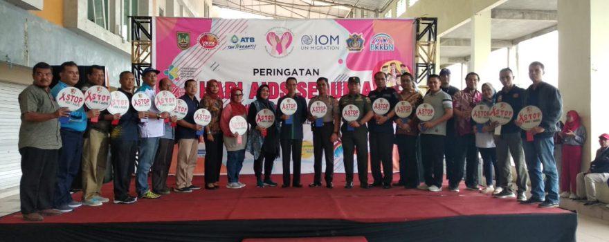 KPA Kota Batam Peringati Hari AIDS Sedunia 2019