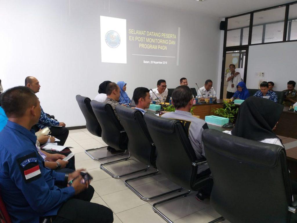 Monitoring Program P4GN bersama BNNP Kepri - PT. Putra Tidar Perkasa