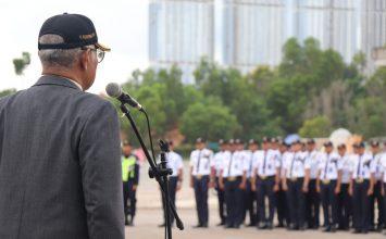 Operasi Lilin Tidar 2019 dan Tahun 2020 - Putra Tidar Perkasa Gelar Apel Kesiapan Nataru - Jasa Pengamanan di Batam