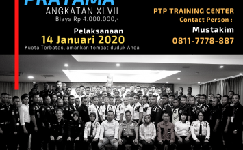 Pelatihan Satpam Gada Pratama angkatan 47 - PTP Training Center -