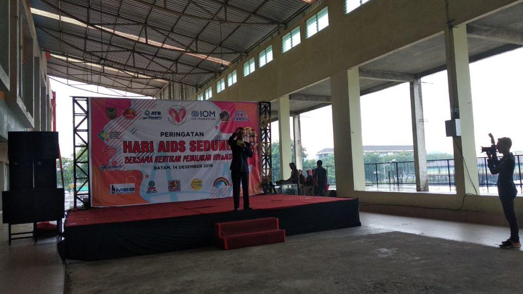 Sambutan Wakil Walikota Batam - Hari AIDS Sedunia 2019