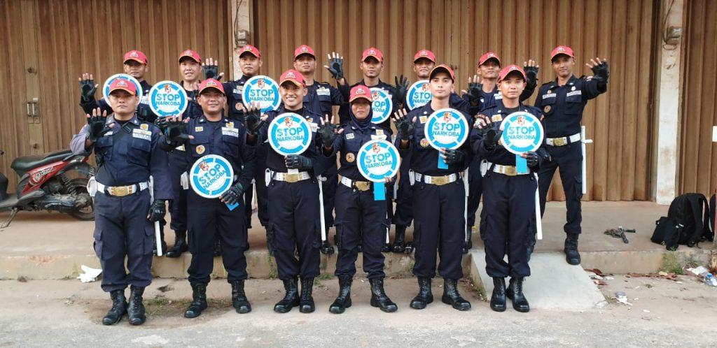 Satpam PTP serukan Stop Narkoba Peduli Prilaku Hidup Sehat