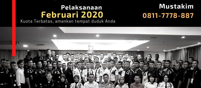 Pelatihan Satpam Gada Pratama Angkatan 48