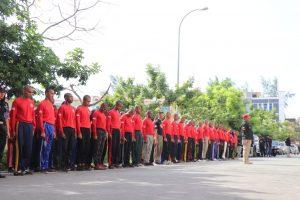 72 Peserta Ikuti Diktuk Satpam Putra Tidar Perkasa Angkatan XLIX