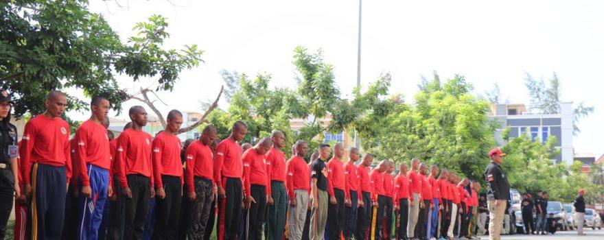 Diktuk Satpam - Putra Tidar Perkasa - Batam - angkatan XLIX - Pelatihan