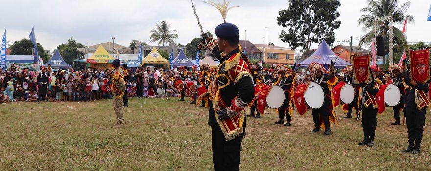 Drum band Satpam Harlah Paguyuban Magelang - Kota Batam - Putra Tidar Perkasa - Piayu