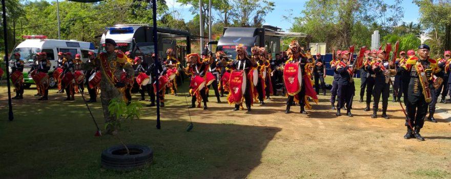 Drumband Satpam meriahkan Ultah BPOM Batam ke 19