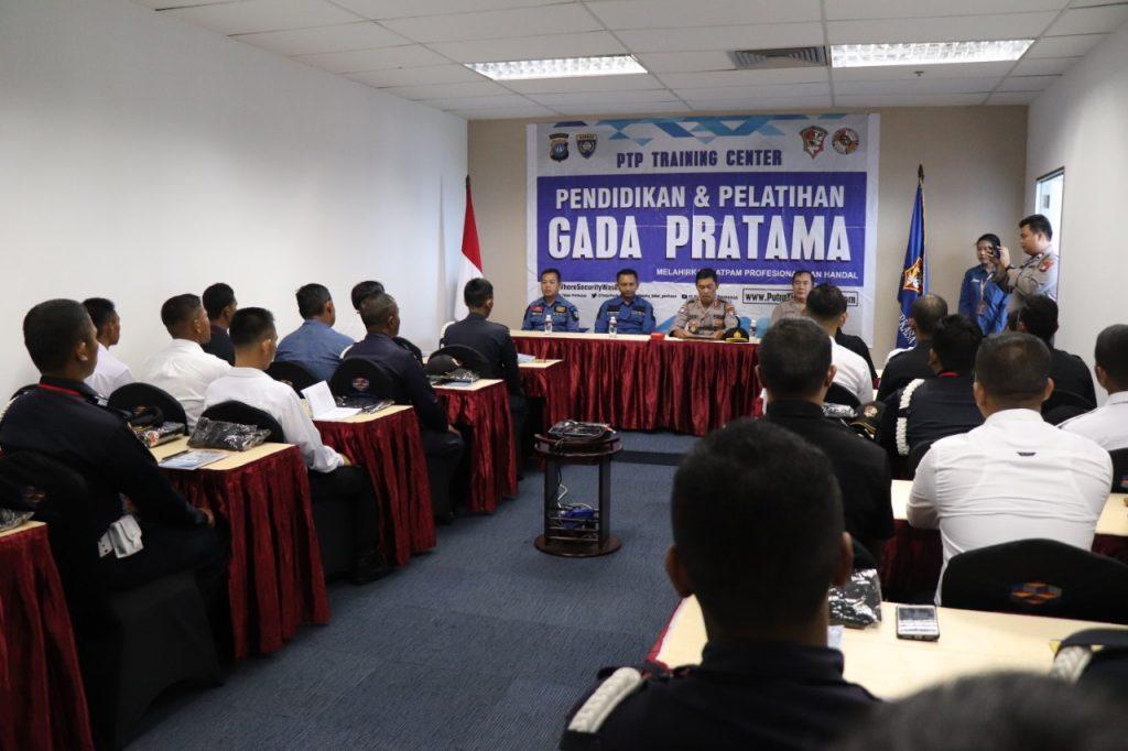 Jasa Pelatihan Satpam Gada Pratama angkatan VII - PTP Training Center  - Kota Batam
