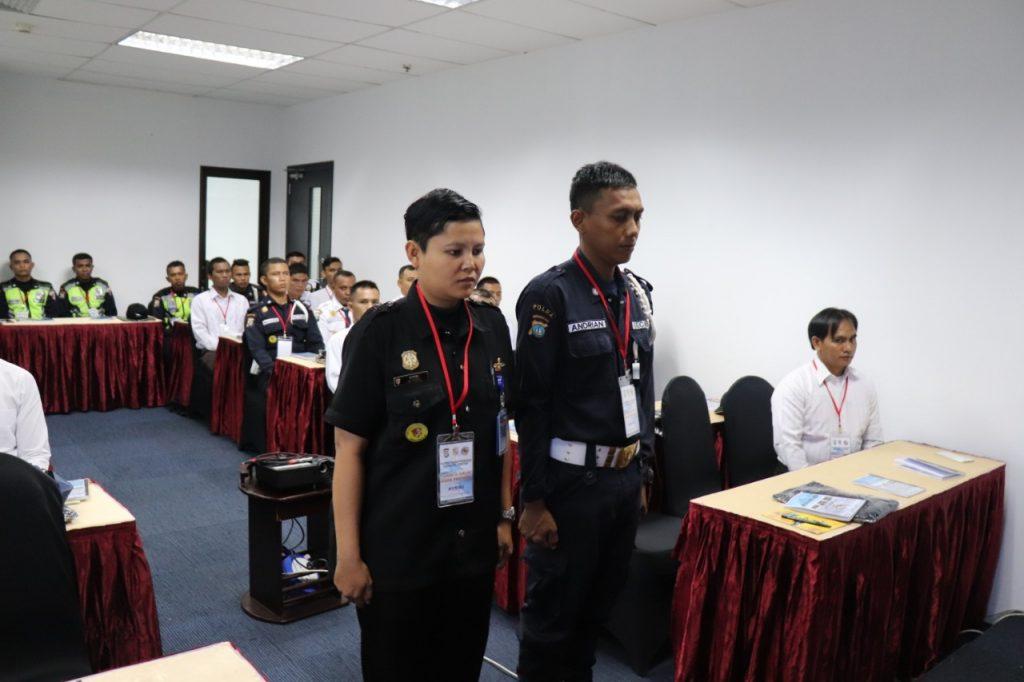 Jasa Pelatihan Satpam Gada Pratama angkatan VII - PTP Training Center  - Kota Batam - Putra Tidar Perkasa