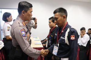Read more about the article PTP Gelar Pelatihan Satpam Gada Pratama angkatan XLVII di Kota Batam