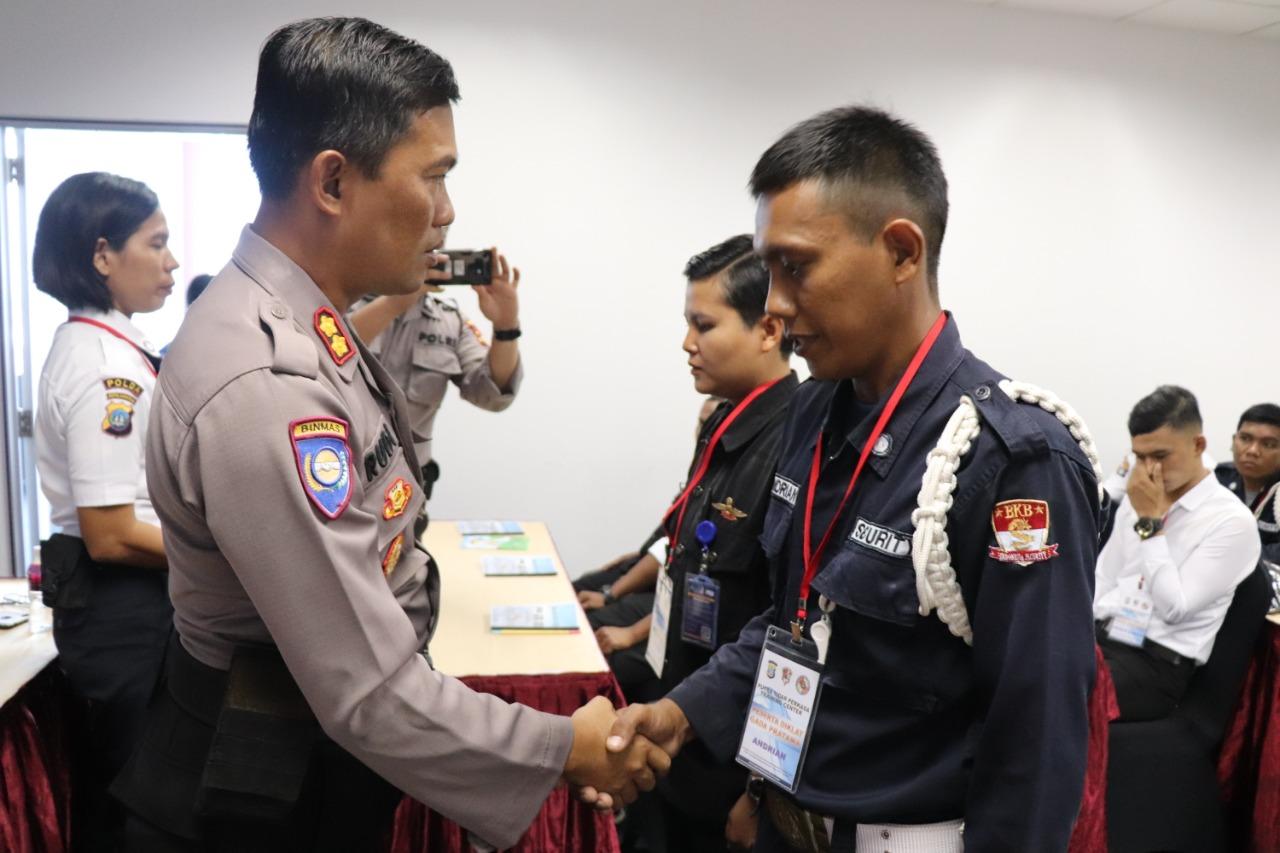 PTP Gelar Pelatihan Satpam Gada Pratama angkatan XLVII di Kota Batam