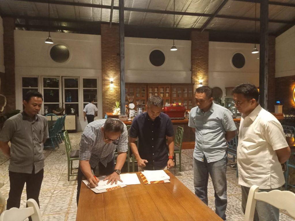 Jasa Pengamanan Semarang -Penandatanganan MoU antara PT. PTP dengan PT. MSI -