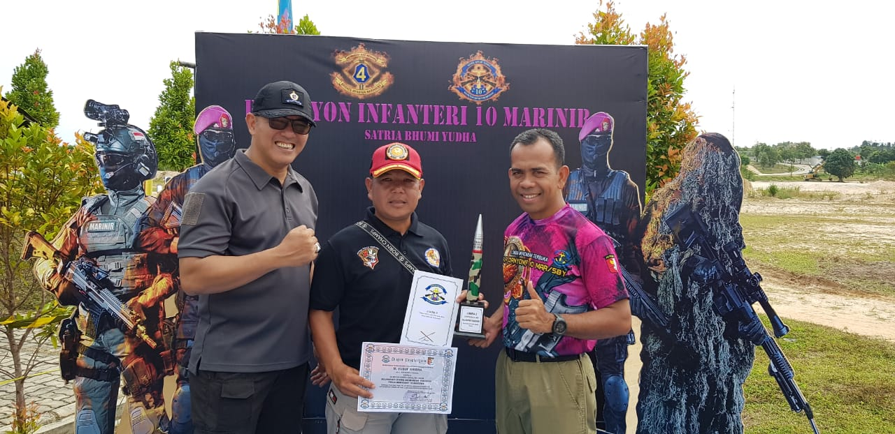 Juara Menembak Piala Danyonif 10 MarSBY
