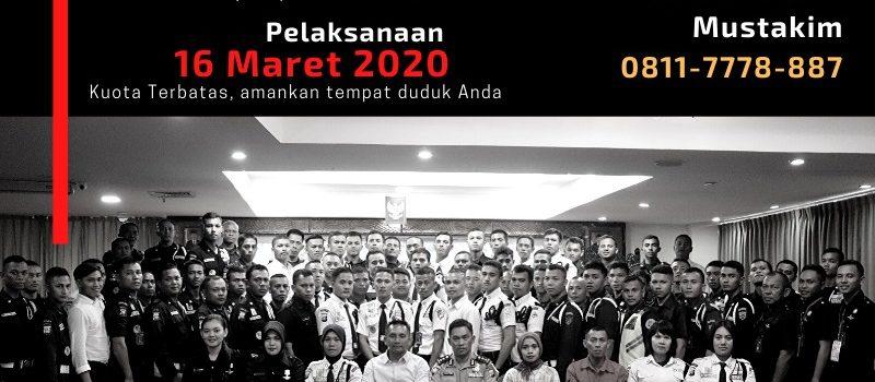 Pelatihan Satpam Gada Madya angkatan 8 - PTP Training Center - Kota Batam