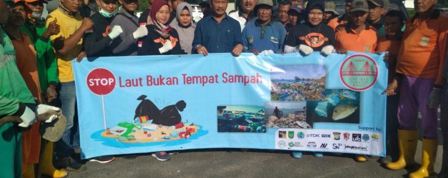 Satpam PTP Ikuti Bersih