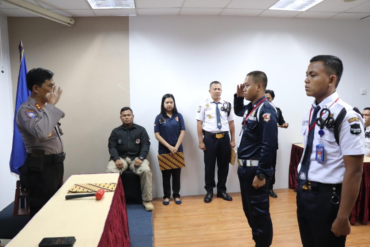 38 Peserta Ikuti Pelatihan Satpam Gada Pratama angkatan XLVIII PTP Training Center