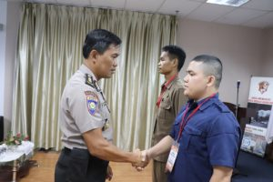 PT. Putra Tidar Perkasa Gelar Pelatihan Satpam Kualifikasi Gada Madya angkatan VIII Batam