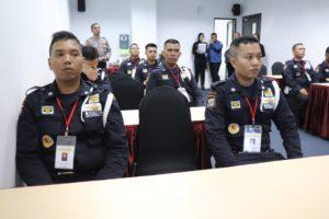 PTP Gelar Pelatihan Satpam Gada Pratama Angkatan L Bagi Pencaker Disnaker Kota Batam