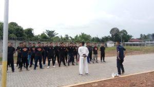 Read more about the article Satpam PTP Bekali diri dengan Beladiri Taekwondo, Pelatih dari UPI PRO
