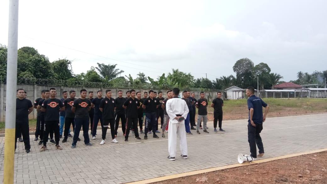 Satpam PTP Bekali diri dengan Beladiri Taekwondo, Pelatih dari UPI PRO