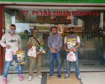 PTP bagi Sembako ke Satpam
