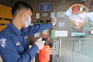 PTP Terapkan Protokol Kesehatan Covid-19 di Lingkungan Kerja