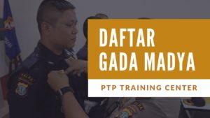 Read more about the article PELATIHAN SATPAM GADA MADYA ANGKATAN XIII TELAH DIBUKA, AYO SEGERA DAFTAR