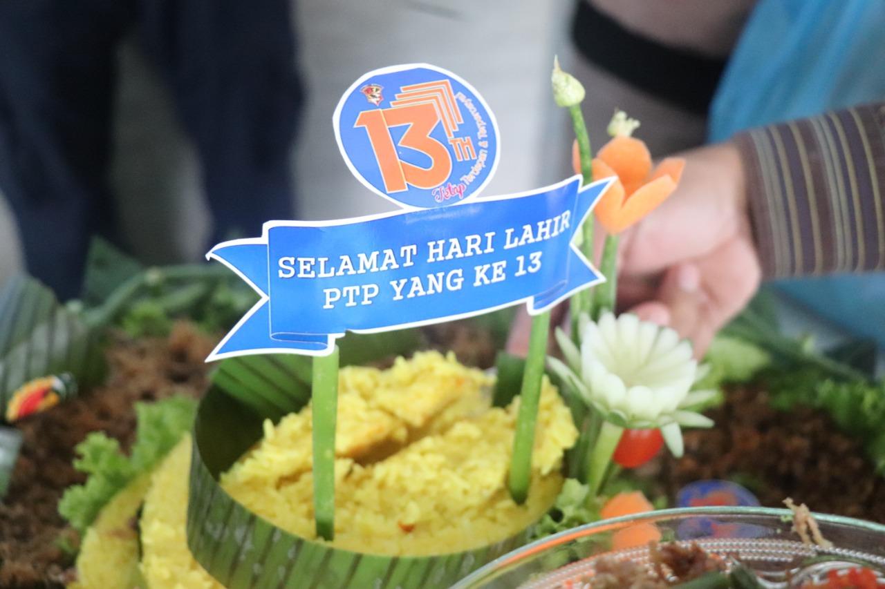 You are currently viewing Hari Jadi Ke 13, PT. PTP Tetap Terdepan & Terpercaya