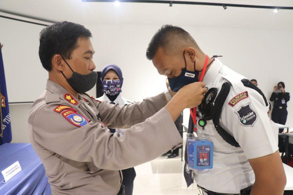 Pelatihan Satpam Gada Pratama - Batam - Putra Tidar Perkasa - angkatan LI 51