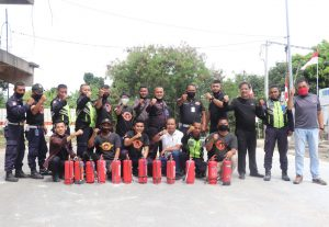 Pelatihan Petugas Pemadam Kebakaran Kelas D (Fire Warden Training Class D)