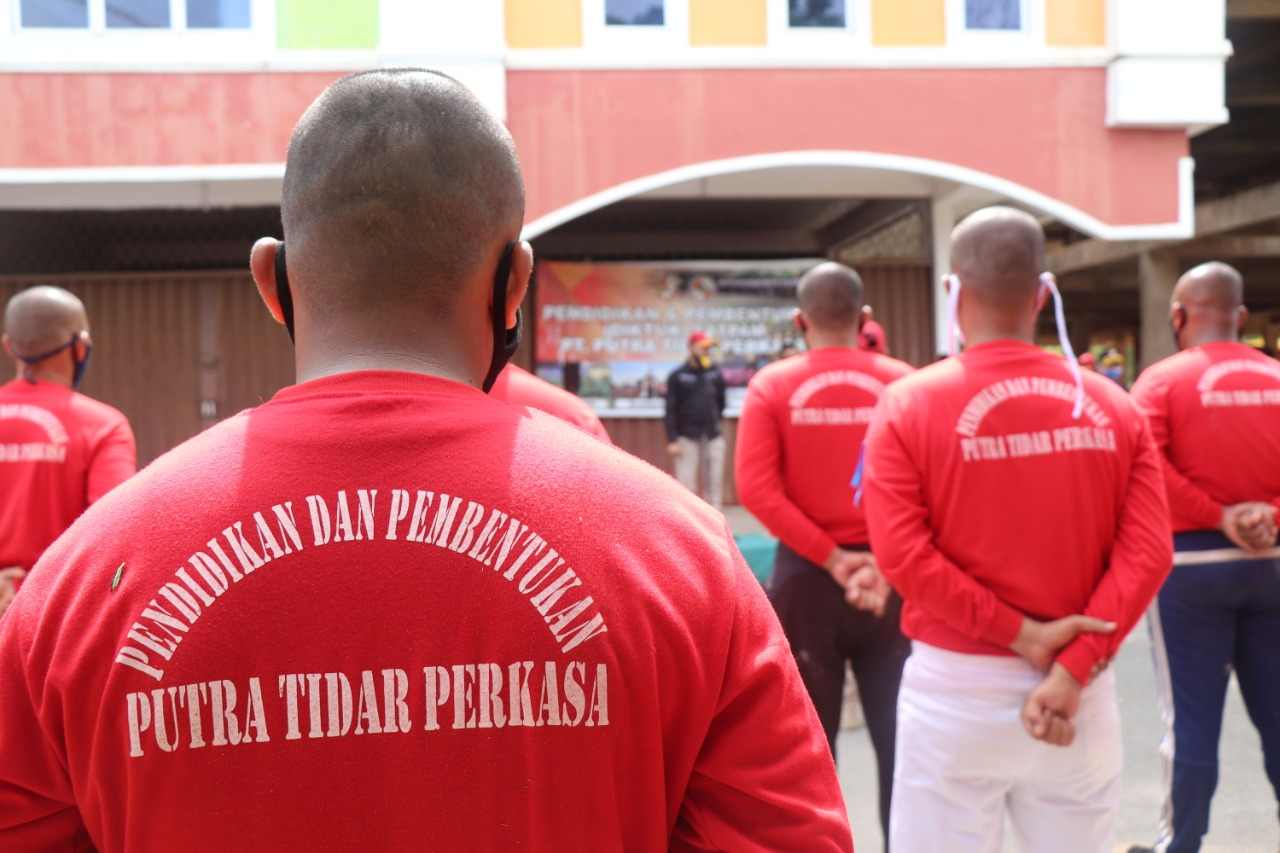 PTP Buka Diktuk Satpam Angkatan 50